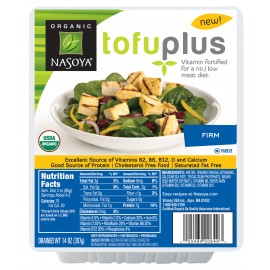 Nasoya Organic Firm Tofu Drained Wt. 14 oz 397 g