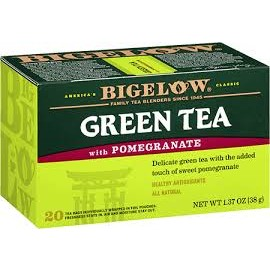 Bigelow Herbal Tea Green Tea Pomegranate 25g 20tea bags