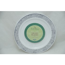 "Frillware Collection Salad Plates 7.5"" 10cts"