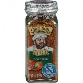 CHEF PAUL PRUDHOMME MAGIC Seasoning Blends Seven Herbs NET WT. 1.651OZ (47G)