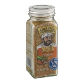 CHEF PAUL PRUDHOMME MAGIC SEASONING BLENDS SIX SPICE NET WT. 1.9OZ (54G)