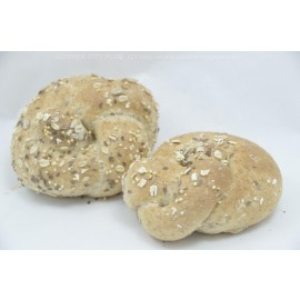 Small Multigrain Bun Yashan Pas Yisroel Nut Free Kosher City Plus Bakery