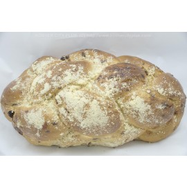 Small Challah with Raisins Yashan Pas Yisroel Kosher City Plus Bakery