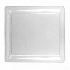 Clear Square 16X16 Tray