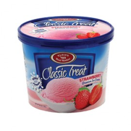 Kleins Premium Ice Cream strawberry Dairy 1.65L