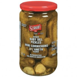 Strubs Kosher Baby Dill 750ml