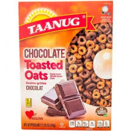 Taanug Chocoalte Toasted Oats 318g