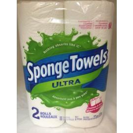 Sponge Towels Ultra 2 Pack