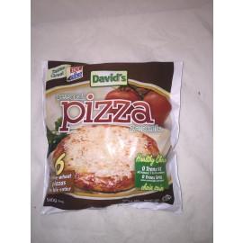 David's Personal Pizza 6 Pizza 540g White